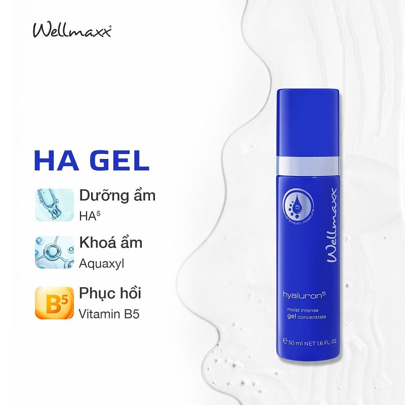 HA GEL Hyaluron Wellmaxx dưỡng ẩm tối ưu