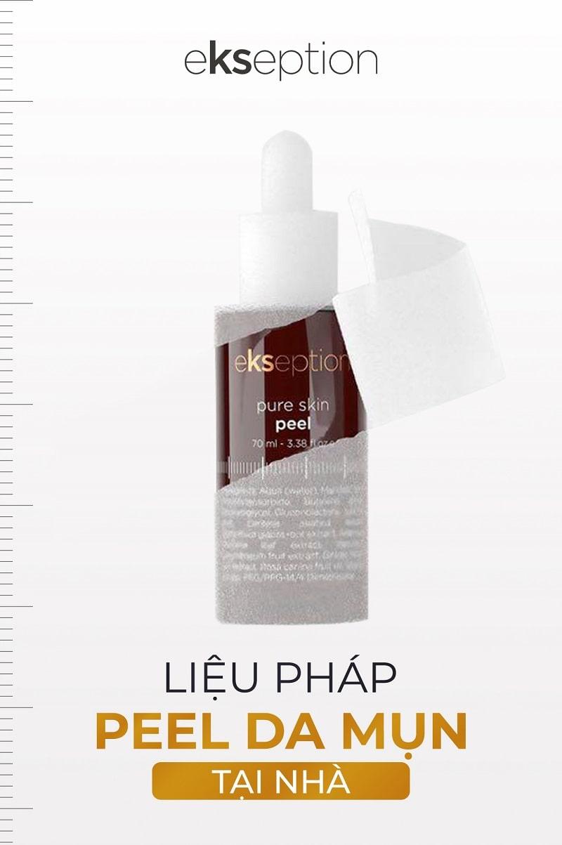 Sự khác biệt của Pure Skin Peel so với Tẩy tế bào chết thông thường